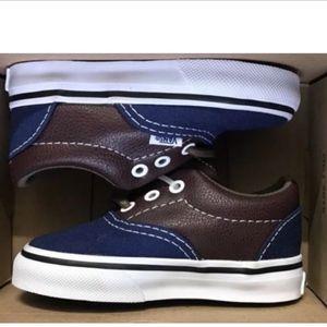 Vans ERA Leather Plaid/Blue Potting Soil🌹